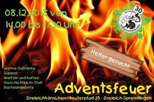 Adventsfeuer 2018