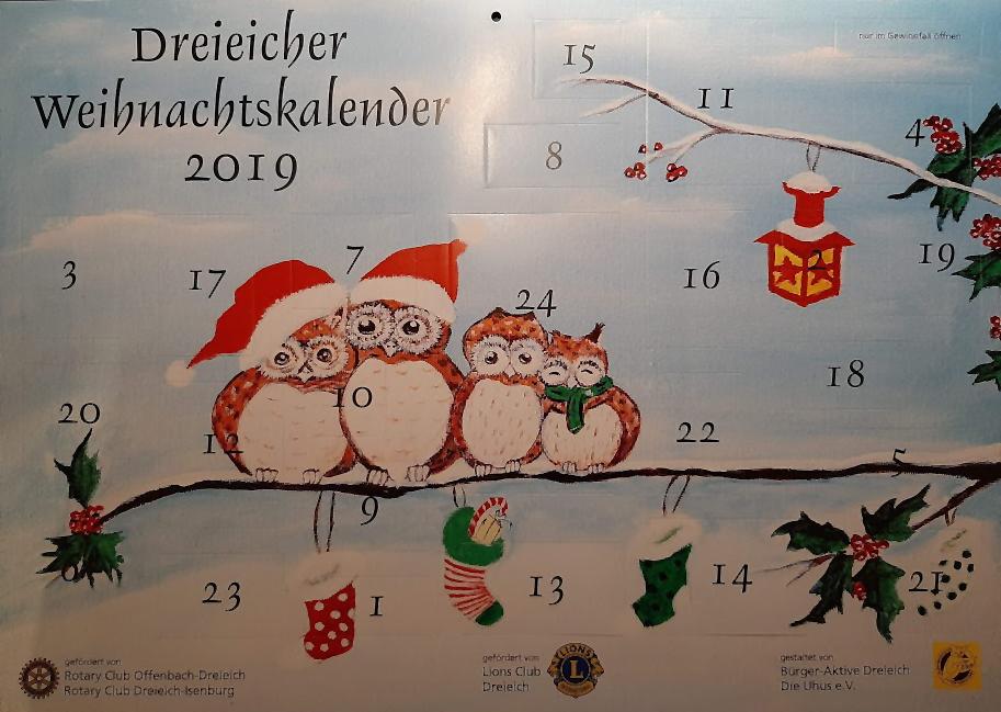 Dreieicher Weihnachtskalender 2019