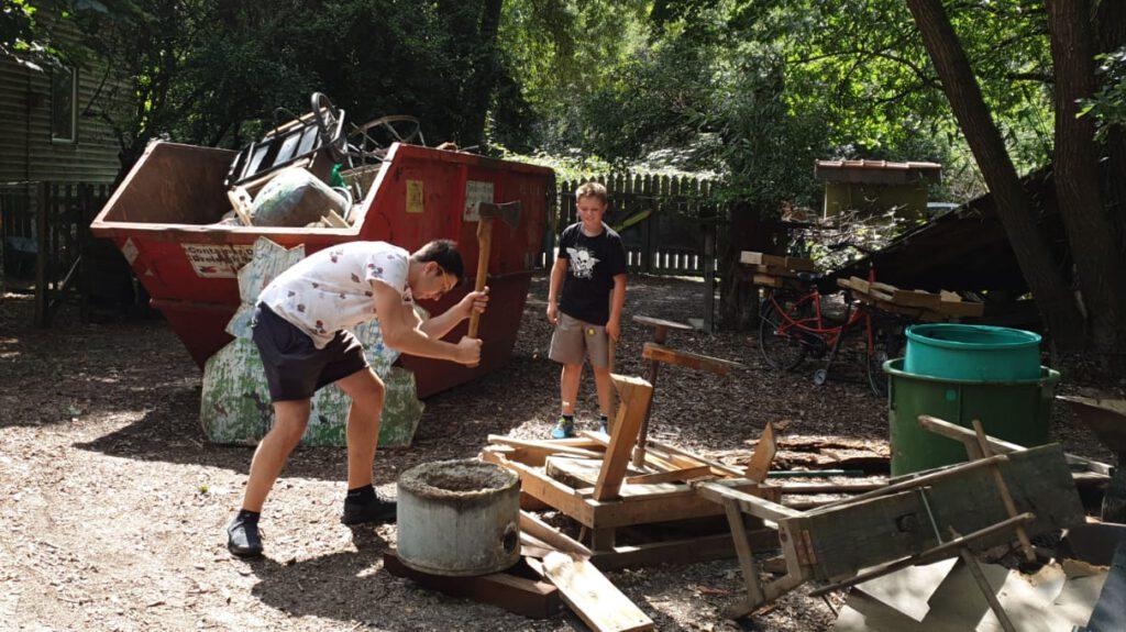 Förderaktion Holzwerkstatt