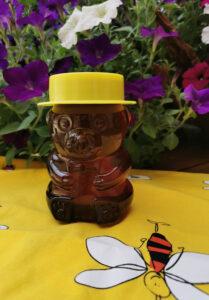 Dreieichhörnchenhonig im Bärchenglas